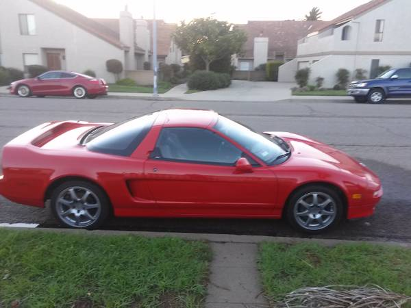 1995 Acura NSX-T For Sale in Lompoc California ...