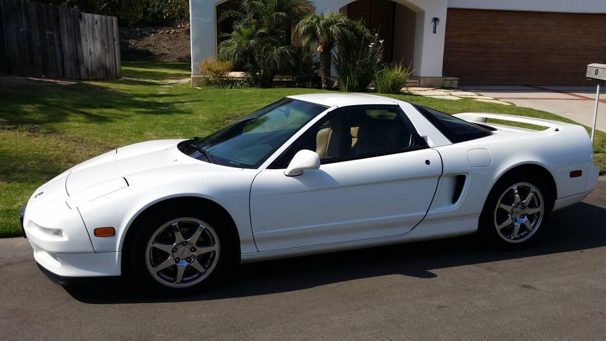1996 Acura NSX-T For Sale in Santa Barbara, California ...